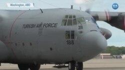 Türkiye'den Tıbbi Yardım Getiren İkinci Uçak ABD'de