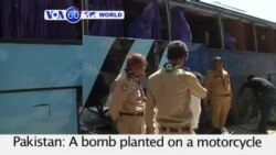 VOA60 Duniya: Bom a Pakistan, Maris 27, 2015