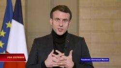 Truyền hình VOA 13/2/21: Lời chúc Tết bằng tiếng Việt của Tổng thống Pháp gây 'bão mạng'