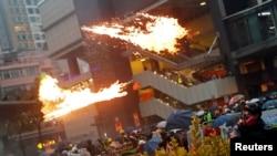 Протестные акции вновь прошли в Гонконге в минувшие выходные