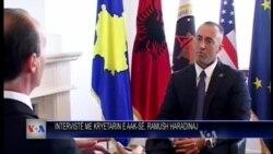Haradinaj mbi ngritjen e institucioneve