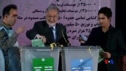 2014-04-06 美國之音視頻新聞: 阿富汗總統讚揚選民不畏恐怖踴躍投票