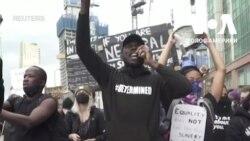 Протестувальники з різних країн поділилися історіями расової дискримінації з власного життя. Відео