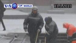 Nga chuẩn bị đón bão tuyết lớn nhất trong 50 năm (VOA60)