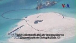 Trung Quốc bênh vực hoạt động xây đảo ở Trường Sa