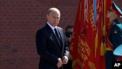 ولادیمیر پوتین رییس جمهوری روسیه