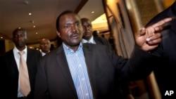 Kalonzo Musyoka,colistier de Raila Odinga