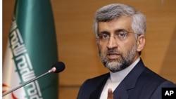 Thương thuyết gia trưởng của Iran về vấn đề hạt nhân Saeed Jalili