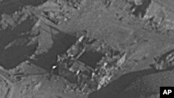 Hình ảnh do Quân đội Israel công bố việc phá hủy lò phản ứng hạt nhân của Syria.