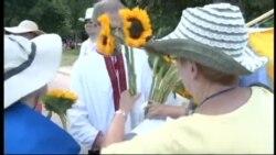 Украинцы, русские и американцы вместе почтили память жертв крушения рейса МН-17