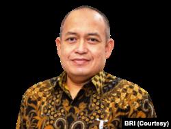 Sekretaris korporat BRI, Aestika Oryza Gunarto. (Foto: Courtesy/BRI)