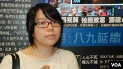 香港市民麥小姐表示,六四事件無論如何北京當局不應屠殺自己的人民
