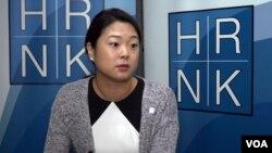 미국의 대북인권단체인 북한인권위원회(HRNK) 로사 박 프로그램 국장이 22일 VOA와의 인터뷰에서 새 온라인 모금 활동을 소개했다