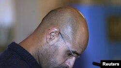 Seif al-Islam Kadhafi foi capturado no final do ano passado e espera agora julgamento