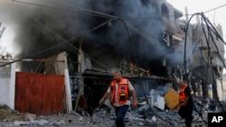 Crise israélo-palestinienne.