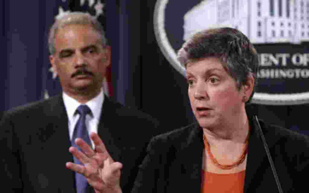 15. - La secretaria de Seguridad Nacional de Estados Unidos, Janet Napolitano.