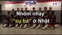 """Nhóm nhảy """"cụ bà"""" ở Nhật"""