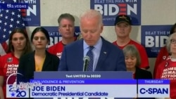 Joe Biden sasa rasmi mgombea kiti cha Urais