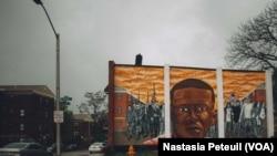 En images : un an après, le quartier de Freddie Gray n'a pas changé à Baltimore