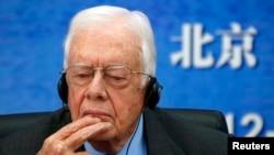 Jimmy Carter hizo público este año que padecía de cáncer al cerebro.