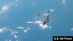 Đội máy bay F-35 của Mỹ do công ty Lockheed Martin chế tạo.