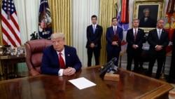 """焦点对话:特朗普签《香港自治法》美中""""制裁大战""""谁受伤更重?"""