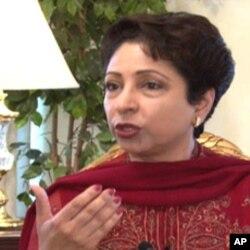 امریکہ میں پاکستان کی سابق سفیر، ملیحہ لودھی