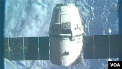 SpaceX Dragon Capsule Leaves ISS