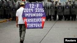 Poco se ha hecho para disminuir la impunidad en Venezuela, según Human Rights Watch.
