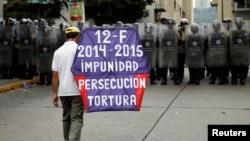 Medio centenar de casos de torturas en Venezuela durante 2014 fueron denunciados en instancias internacionales.