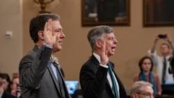 Javno svedočenje diplomata u procesu opoziva američkog predsednika