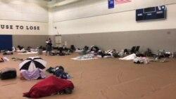 Activados refugios en Miami por Irma