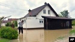 Poplavljena kuća u Banja Luci