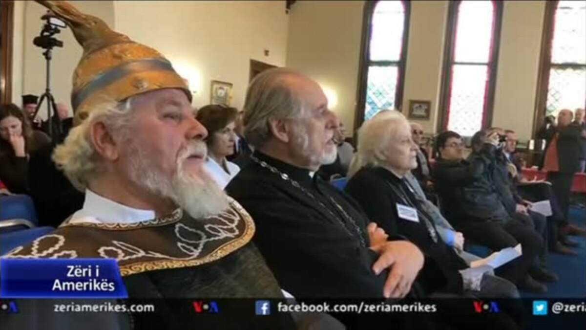 Boston: Kisha Ortodokse shqiptare nderon Skënderbeun dhe Nolin
