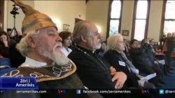 Boston, kisha shqiptare përkujton Skënderbeun dhe Nolin