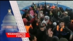 Washington Forum du 3 septembre 2015 : la crise des migrants en Europe