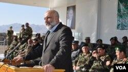 معصوم ستانکزی با سربازان اردوی ملی در قول اردوی ۲۰۷ ظفر دیدار کرد.