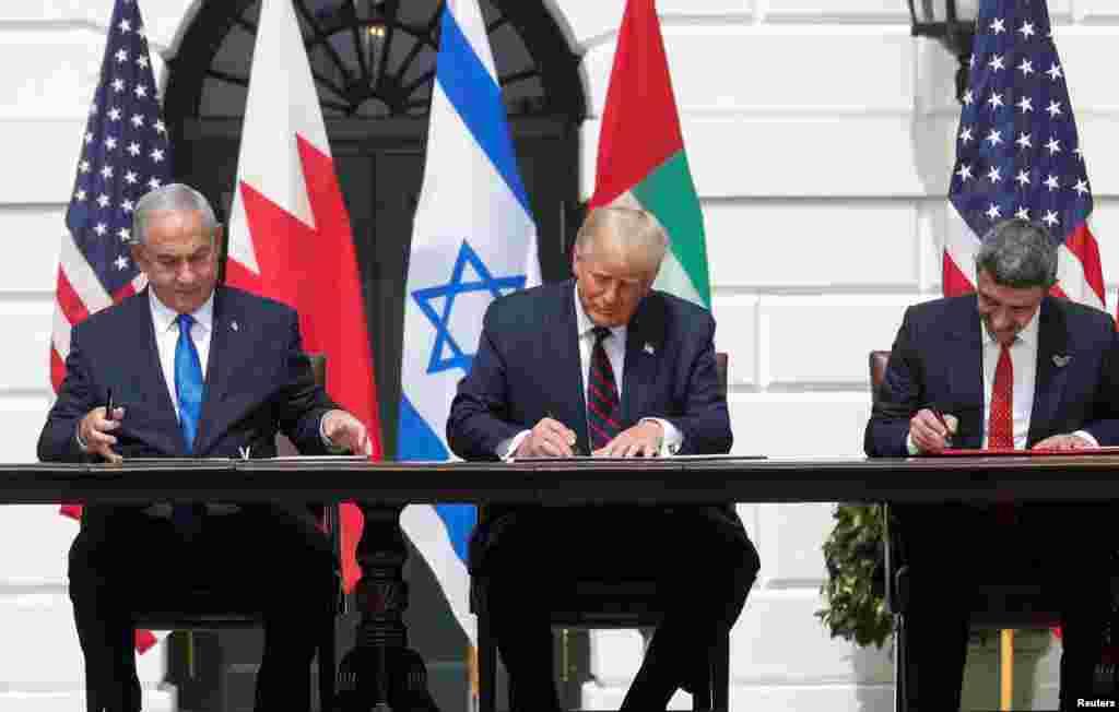 ان معاہدوں کو امریکہ کے 16 ویں صدر ابراہم لنکن سے منسوب کرتے ہوئے 'ابراہم اکارڈ' کا نام دیا گیا ہے۔