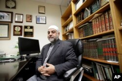 Dr. Mohammad Qatanani, Imam at The Islamic Center of Passaic County in Paterson, N.J., talks about rising tensions in the area, Nov. 1, 2017.