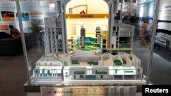 중국 CGN이 지난해 6월 프랑스 파리 세계원자력박람회에서 공개한 신형 원자력발전소 모델.