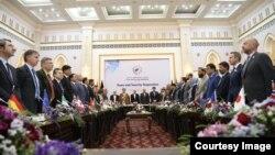 نخستین دور نشست پروسه کابل در ماه جوزای سال روان خورشیدی برگزار گردیده بود.