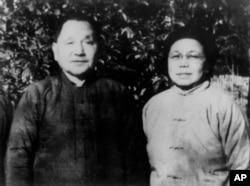 1972年邓小平夫妇在江西下放的时候