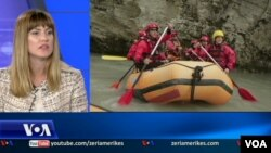 Albania rafting interview