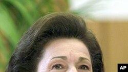 前總統夫人蘇珊‧穆巴拉克心臟病發作入院。