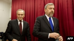 Владимир Некляев и Андрей Санников незадолго до ареста