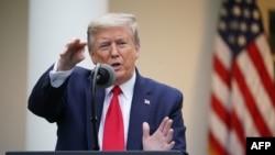 صدر ٹرمپ نے الزام لگایا کہ ڈبلیو ایچ او کی نااہلی کی وجہ سے دنیا میں کرونا وائرس کے کیسز 20 گنا بڑھے ہیں۔