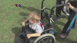 Kursi Roda Bukan Halangan untuk Olahraga