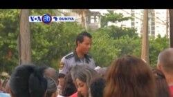 VOA60 DUNIYA: Al'umar Kasar Cuba Sun Zaku Su Ji Jawabin Shugaba Barack Obama, Yuli 1, 2015