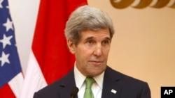 美国国务卿克里。(资料照)