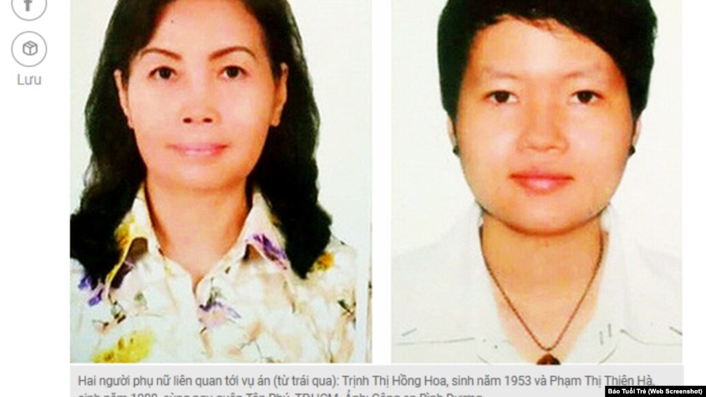 Hai nghi can trong vụ giết người và giấu xác trong bê tông ở Bình Dương.